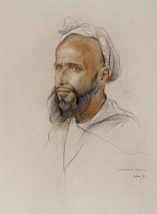 Marrakesh: Study of a Male Head 9459