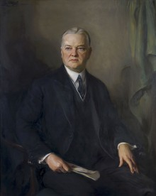 Hoover, Herbert; President of the United States of America 5787