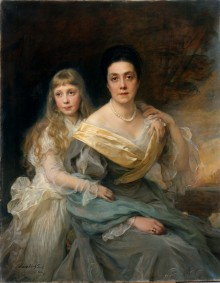 Countess Nadia and Countess Margarita Kapnist 9554
