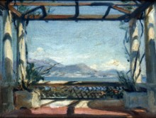 Landscape: View from a Balcony at Cap Ferrat 9337