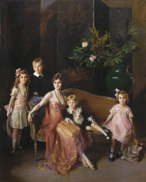 Garvan, Mrs Francis, née Mabel Brady and her children: Francis, Anthony, Mabel and Flora 5312